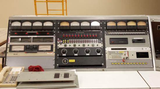 Bloomfield, نيويورك: Voice of America Station Exhibit Control Room