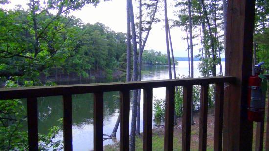 Mountain Harbor Resort: view from my balcony