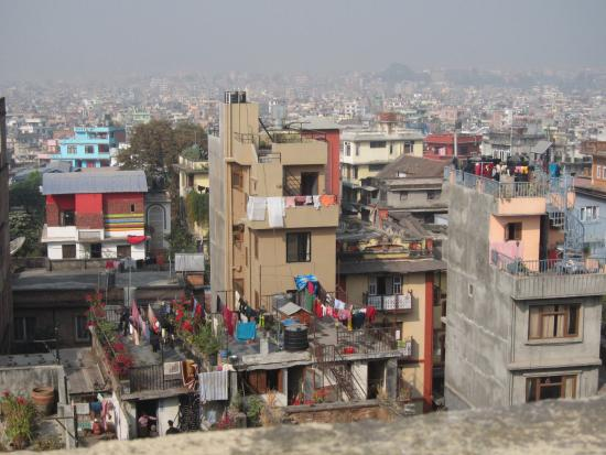 Hotel Pilgrims Pvt. Ltd.: View from roof top
