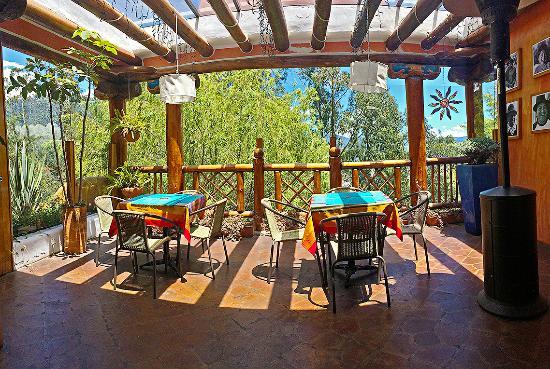 La Casa Sol Otavalo: lcs otavalo terraza cafeteria