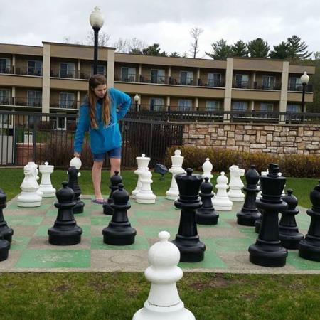 giant chess board picture of holiday inn resort lake george lake rh tripadvisor com