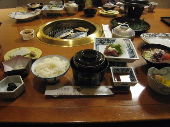 Kagetsutei: 朝食
