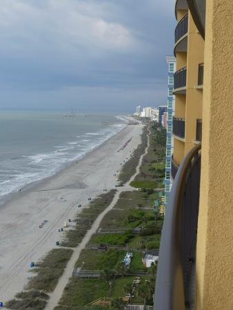 Anderson Ocean Club & Spa, Oceana Resorts: View Southwest at low tide