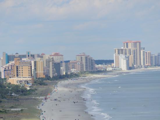Anderson Ocean Club & Spa, Oceana Resorts: Looking Northeast at low tide