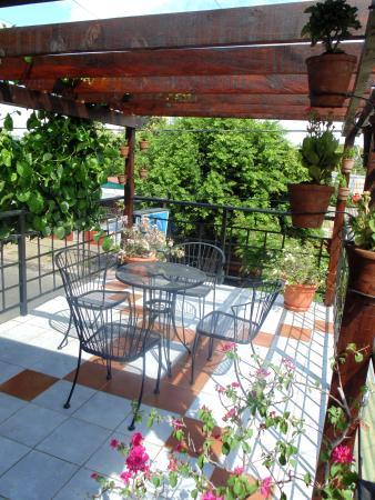 Hostal La Casa de los Abuelos: Terraza