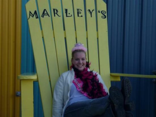 Marley's: Bride to be, Brande at Marleys