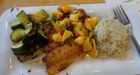 Kerhonkson, NY: wow! Dinner!!!! So yummy..and healthy!!