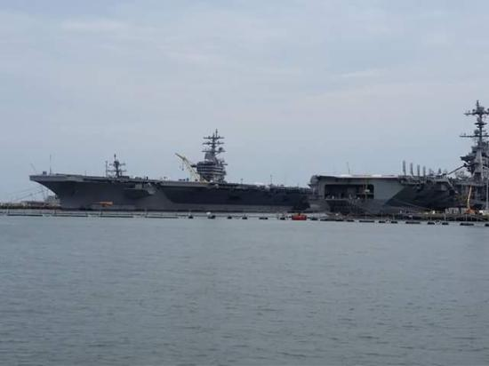 Miss Hampton II Cruises: USS Eisenhower and USS George Washington aircraft carriers Norfolk