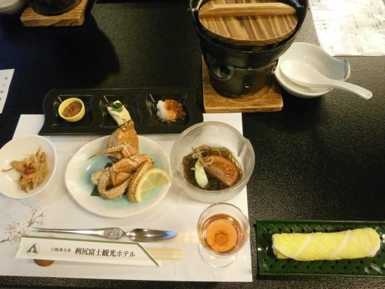 Rishirifuji-cho, ญี่ปุ่น: 夕食
