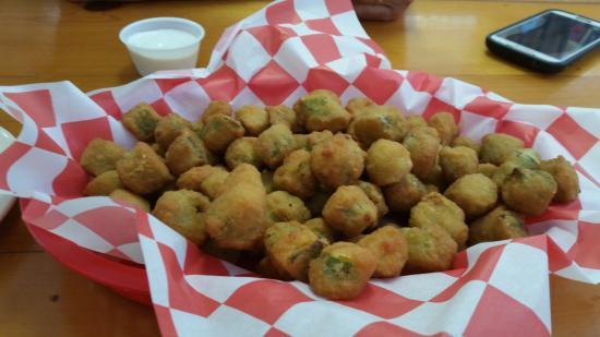 Louis's BBQ Shack : Tremendous fried okra
