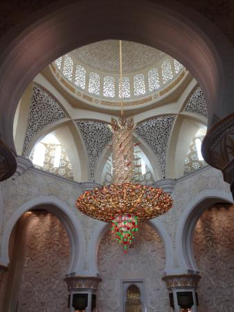 Inverted palm tree chandelier picture of sheikh zayed mosque sheikh zayed mosque inverted palm tree chandelier aloadofball Choice Image