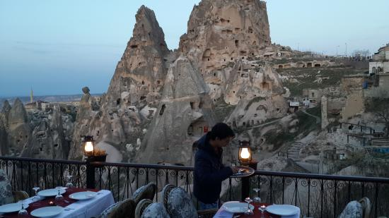 Hermes Cave Hotel: BBQ