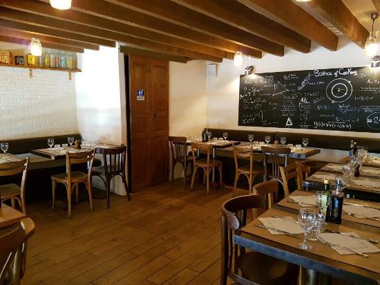 Da Mimmo after refurbishment, same chef, same staff