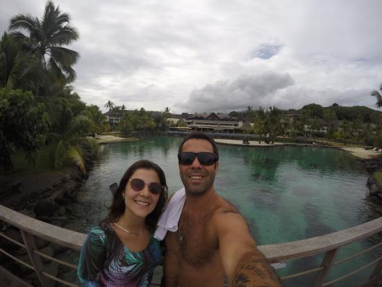 Moorea, Fransk Polynesia: Logo ali atrás esta uma imensa lagoa cheia de peixes para quem gosta da vida maritima