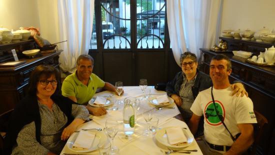 Agriturismo Ca' de Memi : repas gastronomique dans salle a manger particuliere