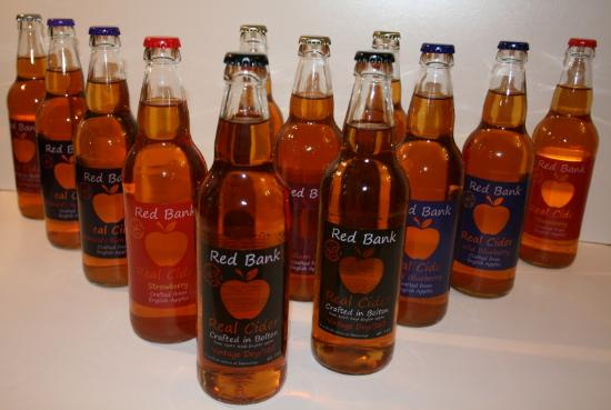 Bolton, UK: Bottle range - low to zero sulphites, low in fizz, lots of natural flavour!