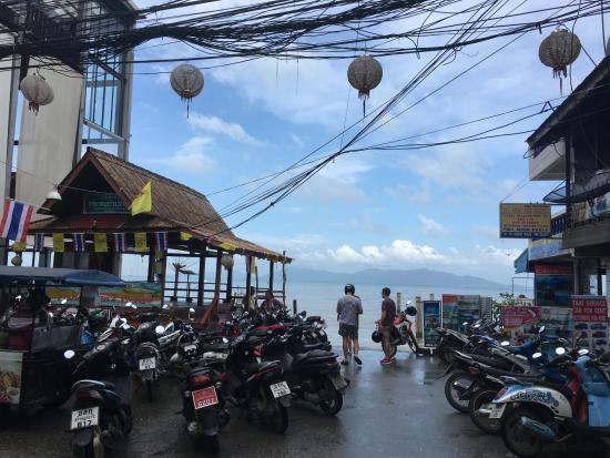 Bophut, Thailand: FISHERMAN's VILLAGE 門口