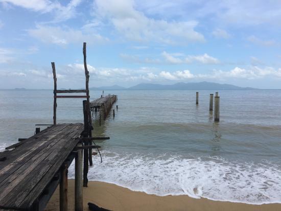 Bophut, Thailand: 碼頭很美麗