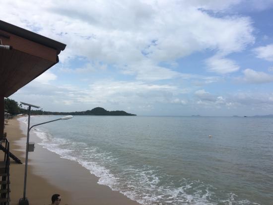 Bophut, Thailand: 每間店SHARED的沙灘