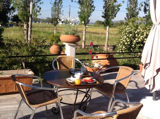 Hotel terrace where we enjoyed are breakfast pela hotel for Terrace hotel breakfast