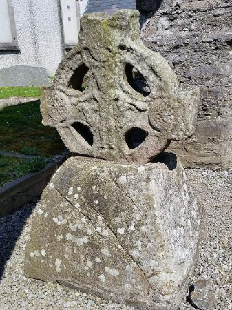 Duleek, Ιρλανδία: the base and head of the South Cross