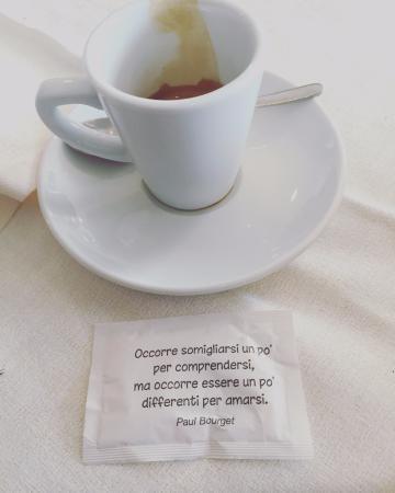 Caffe Con Frase Picture Of La Fabbrica Dei Sapori Bovisio