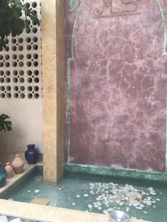 Riad Samarine : Le cœur du Riad.