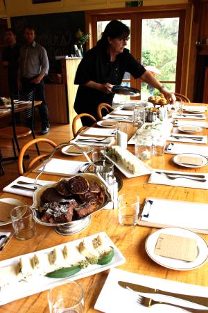 Gippsland, Australia: Seasonally driven menus with produce from our garden