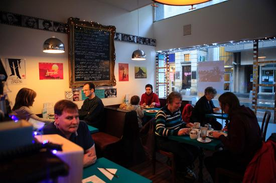 The Rendezvous Cafe : busy day at rendezvous cafe