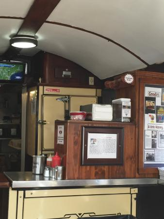 Gilley's : Inside of Gilley's Cart