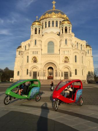 Velodelo - Velocab Excursions in Kronshtadt