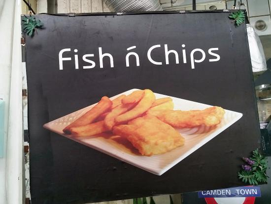 Picture of camden town fish and chips hong for Terrace fish and chips