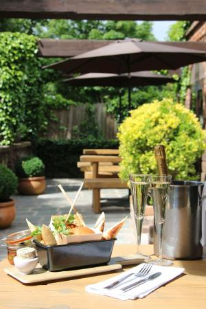 The Manor: Our beautiful courtyard