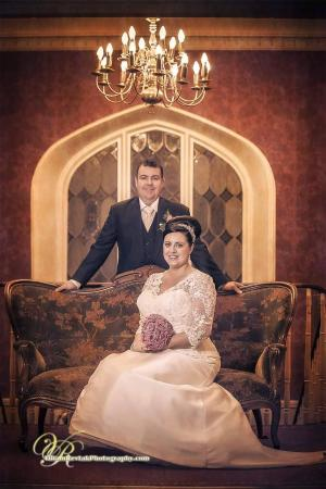 New Years Day Wedding Couple pictured on our landing - Picture of ...