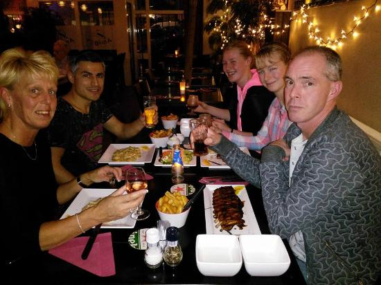Bodegraven, Nederland: a lovely family dinner