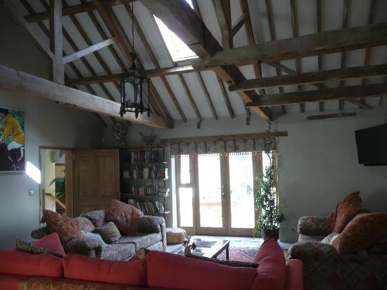 Norfolk, UK: Humbleyard guest lounge