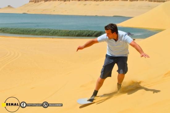 Sandboarding Cairo Club