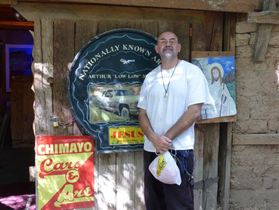 Chimayo, NM: Arthur 'Low Low' and his lovely shop!