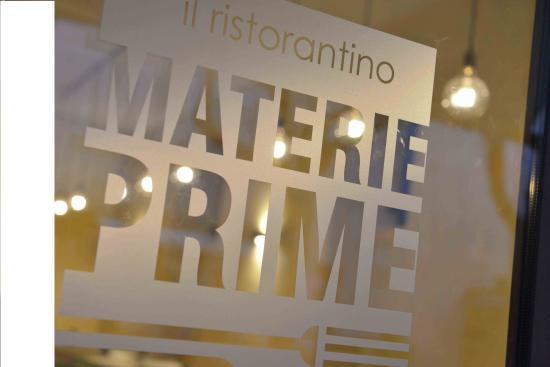 Il ristorantino Materie Prime