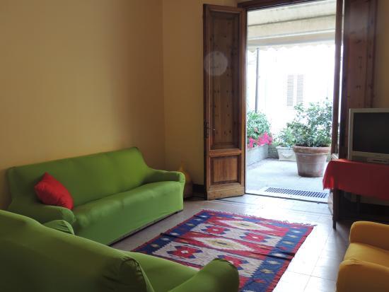 Hotel Belsoggiorno: il soggiorno