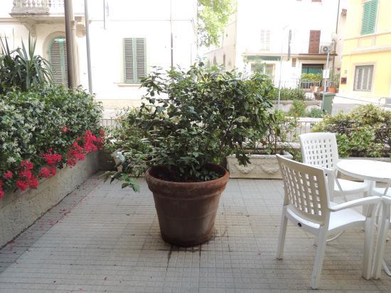 Hotel Belsoggiorno: La terrazza