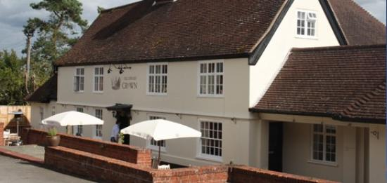The Ufford Crown: You wont be disappointed with the food.