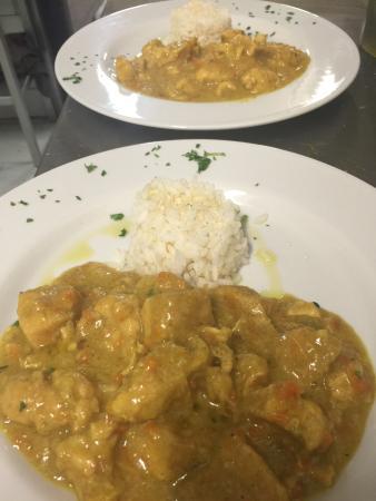 Dicomano, Italy: Pollo al curry
