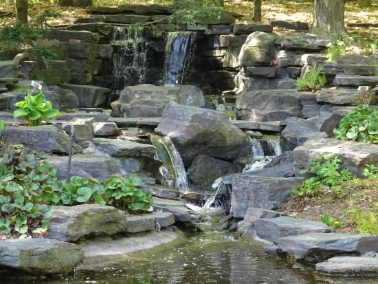 Beau Minnesota Landscape Arboretum: Japanese Garden Waterfalls