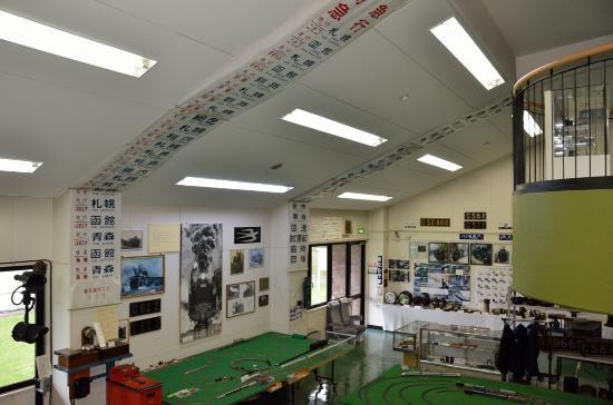 Oshamanbe Town Center: 鉄道関係の展示