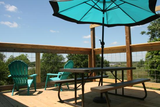 Lolita, TX: Lots of wonderful deck seating available