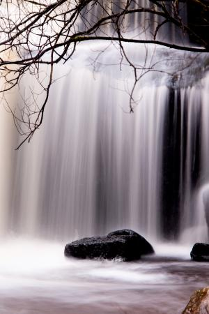 Creative Photography Wales: waterfall on long exposure; location off the beaten track & time for Nigel to explain
