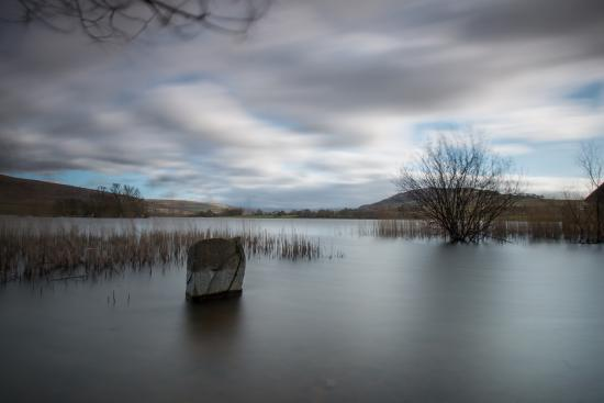 Brecon, UK: Langorse Lake on long exposure