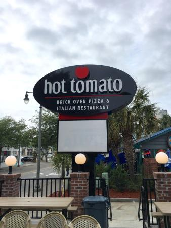 Hot Tomato Ny Style Brick Oven Pizza Italian Restaurant Eat In Take Out