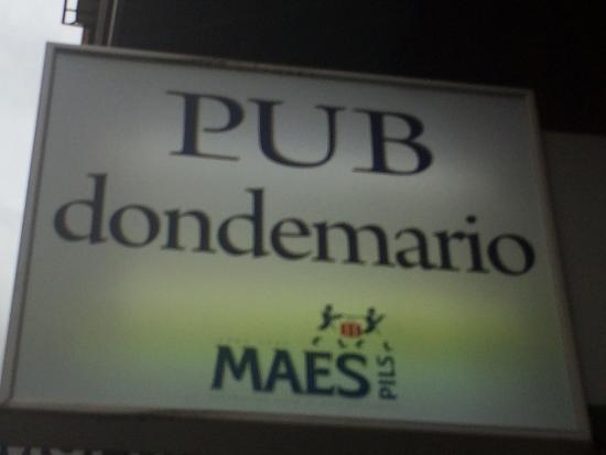 Pub DondeMario
